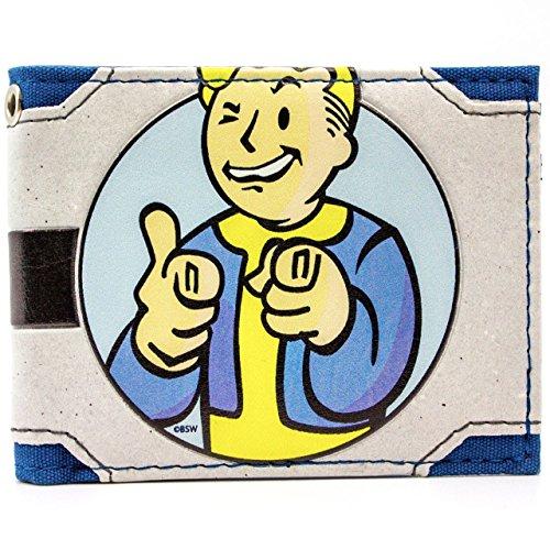 Bethesda Fallout 4 Vault Boy Charisma Blu portafoglio