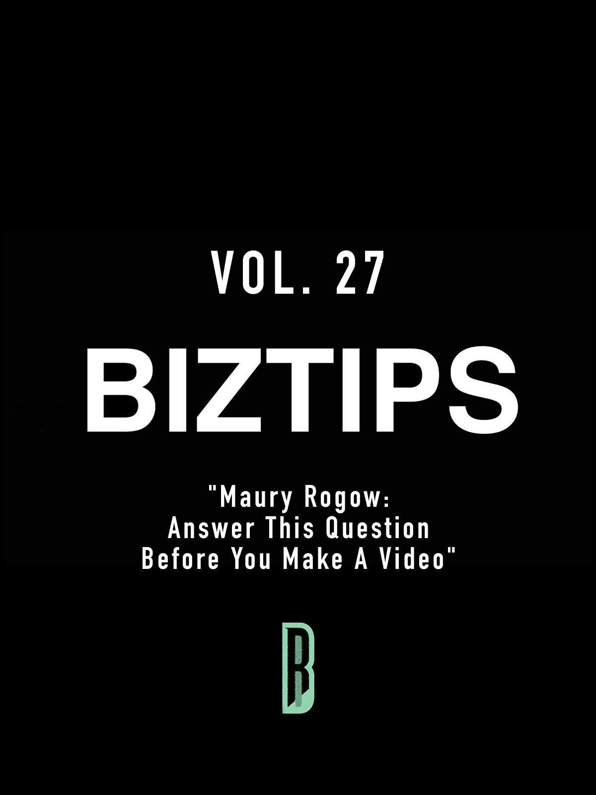 BizTips Vol. 27