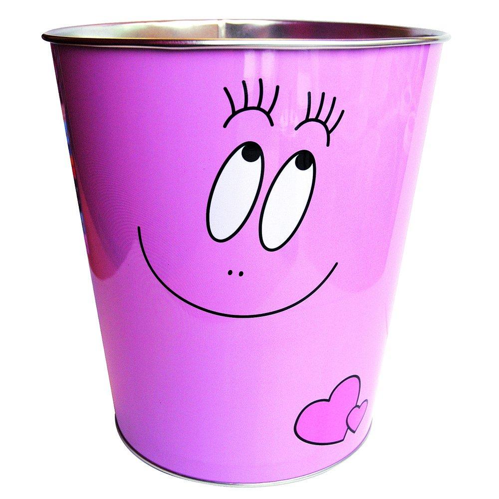 Barbapapa – Retro Blech Papierkorb – Barbapapa Pink günstig bestellen