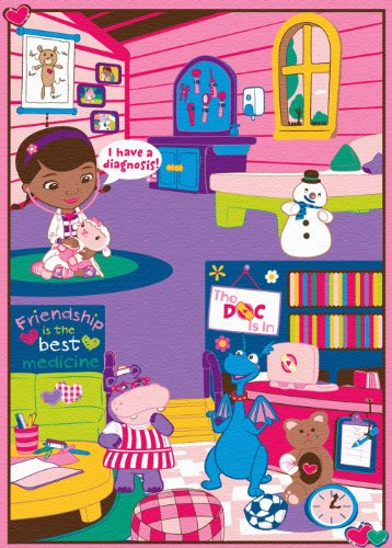 Disney Junior Doc Mcstuffins Doctor S Interactive Game Rug
