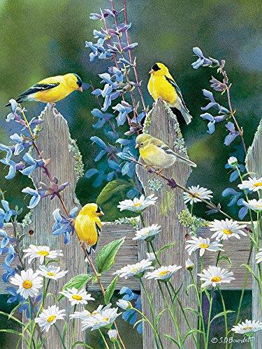 Goldfinch Quartet Jigsaw Puzzle