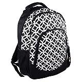 Reinforced Design Water Resistant Backpack (Black Sadie)
