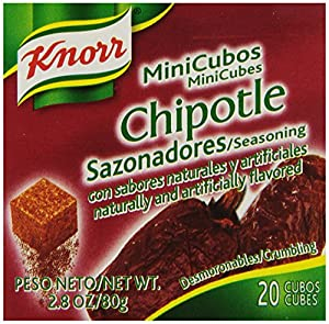 Knorr Minicubes, Chipotle 2.8 oz (Pack of 24)