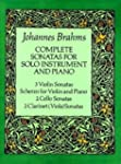 Complete Sonatas for Solo Instrument...