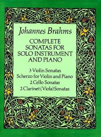 Complete Sonatas for Solo Instrument and Piano (Viola Sonatas)
