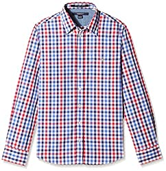 Gant Boys Shirt (GBSFF0016_Red_9- 10 years)