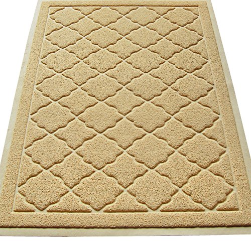 Easyology Premium Cat Litter Mat - XL Super Size - Extra Large Scatter Control Kitty Litter Mats for Cats Tracking Litter Out of Their Box - Soft on Paws- Elegant for Your Home- (Patent Pending) (Litter Pan Mat compare prices)