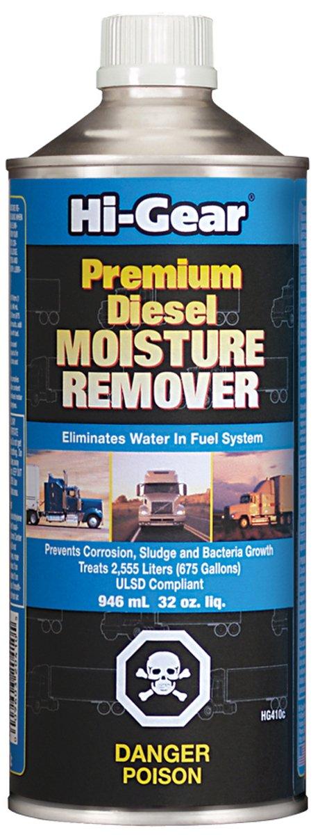 Hi-Gear HG410c Premium Diesel Moisture Remover - 32 fl. oz. салфетки hi gear hg 5585