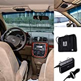 Actpe Portable Wireless Bluetooth V4.0 Visor Vehicle In-car Hands-free Speakerphone Kit W/ Mic Microphone & Clip...
