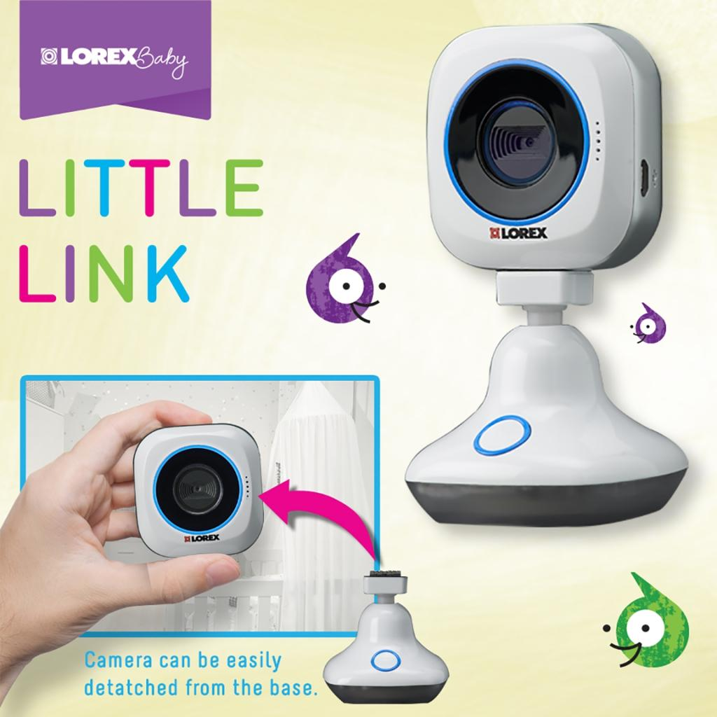 lorex baby lbn511 little link wi fi hd video baby monitor w remote to smartphone ebay. Black Bedroom Furniture Sets. Home Design Ideas