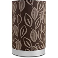 2-Pack Mainstays Leaf Fabric Uplight Room Lamps