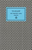 On Poetry and Poets (0571089836) by Eliot, T. S.