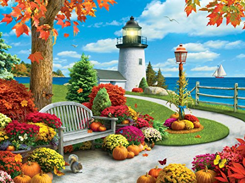 Masterpieces Autumn Sail Lazy Days Jigsaw Puzzle (750-Piece)