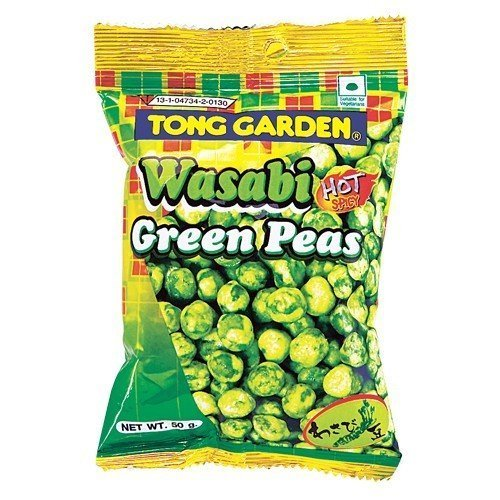 Wasabi Green Pea, Hot Wasabi Peas By Tong Garden (Pack Of 3)