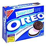 Oreo Chocolate Sandwich Cookies, Sugar Free, 6.75-Ounce Boxes (Pack of 12)
