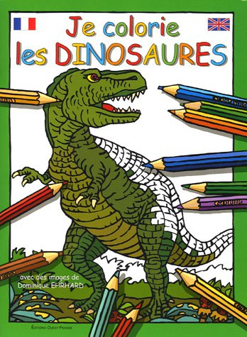 Je colorie les dinosaures