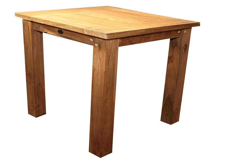 Gartenmöbel Hochwertiger Teaktisch Gartentisch 90x90x75 online kaufen