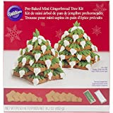Wilton Pre-Baked Mini Gingerbread Tree Kit