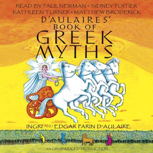 Amazon Com D Aulaires Book Of Greek Myths Audible Audio