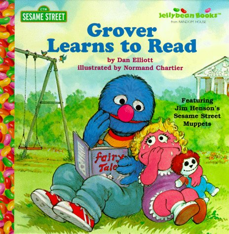 Grover Learns To Read (Junior Jellybean Books(Tm)) front-1029292