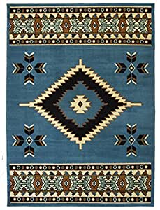 rugs 4 less collection southwest native american indian area rug design r4l sw2 in. Black Bedroom Furniture Sets. Home Design Ideas