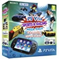 Sony PlayStation Vita 3G Console with Sports & Racing Mega Pack on 16GB Memory Card