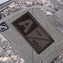 Alcoa Prime Hot 3D Blood Type Patch A B AB O POS NEG Coyote Tan OD Green Patch Fashion A Negative New