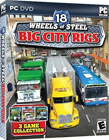 18 Wheels of Steel Big City Rigs