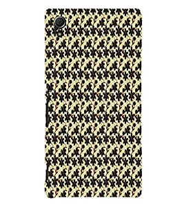 Fuson Premium Printed Hard Plastic Back Case Cover for Sony Xperia Z3 Plus Dual