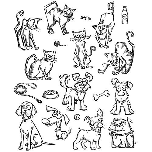 tim-holtz-cling-stamps-7x85-mini-cats-dogs