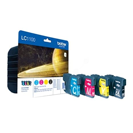 Brother DCP-585 CW (LC-1100 VAL BP) - original - Ink cartridge multi pack - - 325 Pages