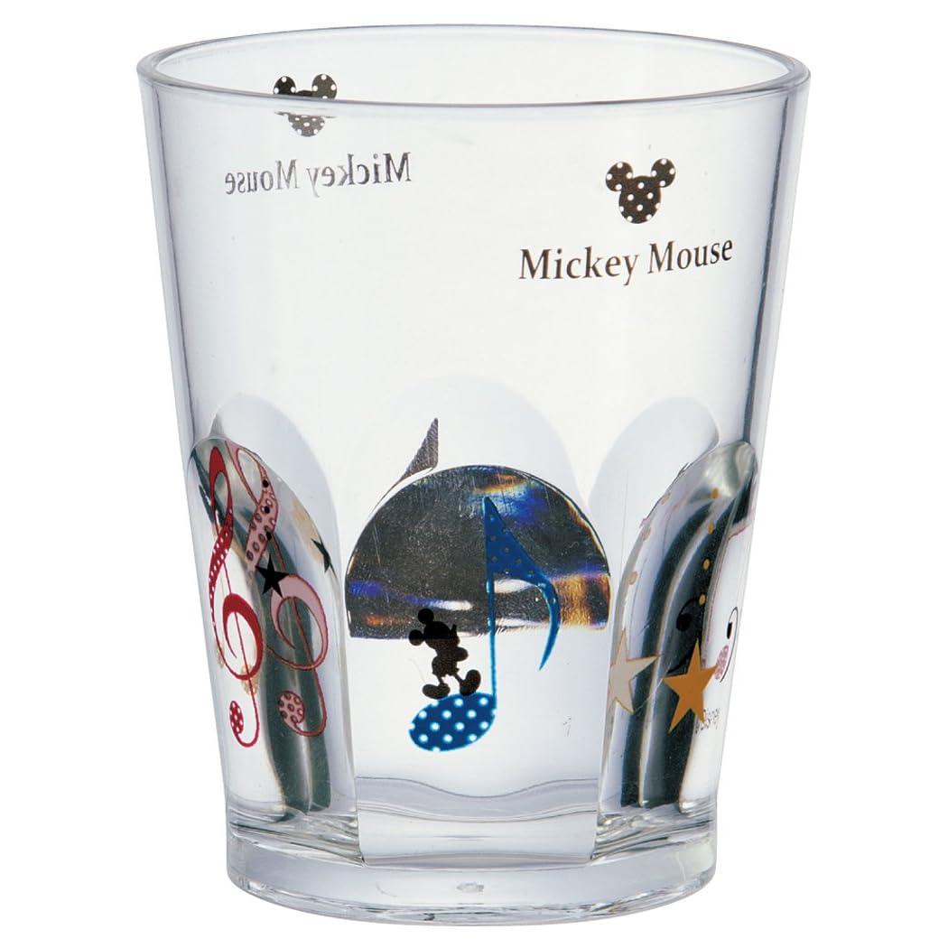 skater mickey mouse(音符) アクリルコップ6面 ksa5