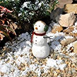 Miniature Fairy Garden Earmuffs the Snowman