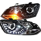 Generic LED Headlights LD 2011 to 2013 Year for Volkswagen Cross Polo Vento Polo mk5