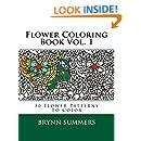Flower Coloring Book Vol. 1