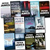 Erica James Peter James Series Collection 13 Books Set (Faith, Prophecy, Denial, Twilight, The Truth, Dreamer, Possession, Sweet heart, Dead Tomorrow, Looking Good Dead, Dead Simple, Dead Like You, Dead Man's Footsteps) ((The New Roy Grace Novel))