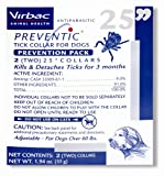 Virbac Preventic Tick Dog Collar, 25-Inch, 2-Pack