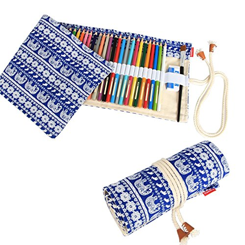 magicw-elephant-retro-canvas-wrap-curtain-roll-up-pencil-pen-case-bag-48-color-pencil-case-holder-pe