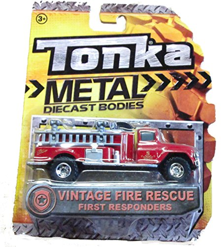Tonka Metal Diecast Bodies Vintage Fire Rescue First Responders - 1