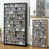 1284枚収納 CD屋さんのCDDVDラック