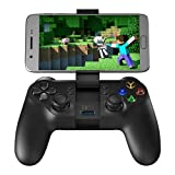 GameSir T1s Enhanced Edition Wireless/Wired Gamepad Game Controller 2.4GHz Bluetooth 4.0 for iOS/Android/PC/PS3 - Black