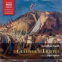 Gulliver's Travels Hörbuch von Jonathan Swift Gesprochen von: Jasper Britton