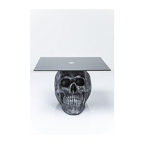 Table basse Skull Rockstar by Geiss 60x60 cm Kare Design