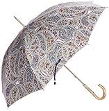 (ムーンバット)MOONBAT um-feel 遮光遮熱パラソル 晴雨兼用ショート傘 LIBERTY ART FABRICS 生地使用 paolo and alessandra 22-426-01260-06 74-47 ネイビー 47cm