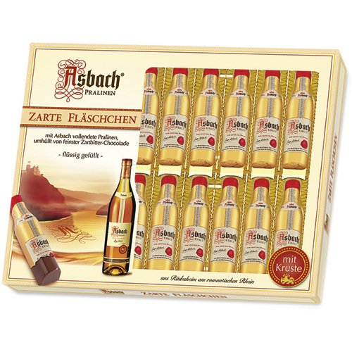 Asbach Uralt Brandy Filled Chocolates in 20 Bottle 