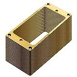 30枚セット 高品質ハムバッカー用エスカッション ゴールド