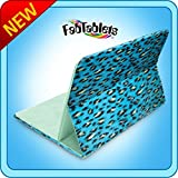 Pillow Pets FabTablet Leopard Print 7 To 10 Stand Cover For Tablets And Ipad