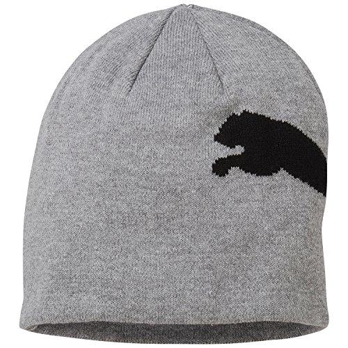 puma-big-cat-no-1-logo-gorro-beanie-gris-medium-gray-heather-big-cat-tallatalla-unica