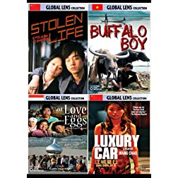 Global Lens - The Best of World Cinema - Volume 6: Asia - 5 DVD Collector's Edition