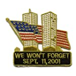 570 Sew-On Patch of September 11 2001...